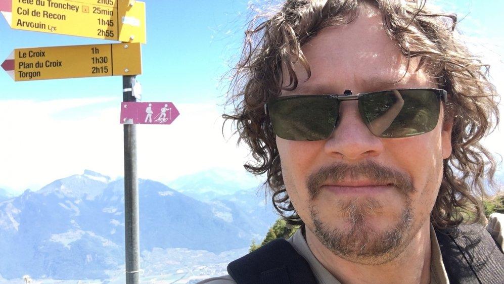Un selfie de vacances, version Portes du Soleil sans neige, juillet 2018.