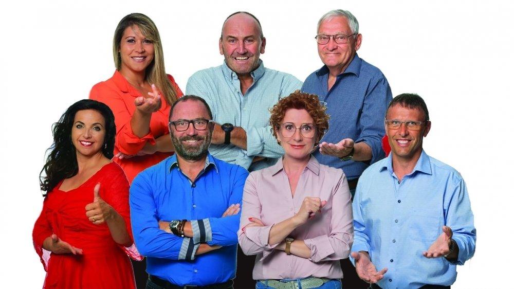 L'UDC de Savièse présente six candidats dont deux sortants.