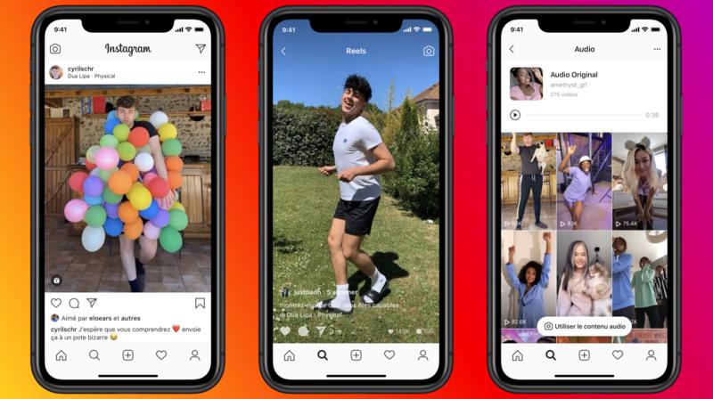 Instagram: pour concurrencer TikTok, Facebook lance «Reels»