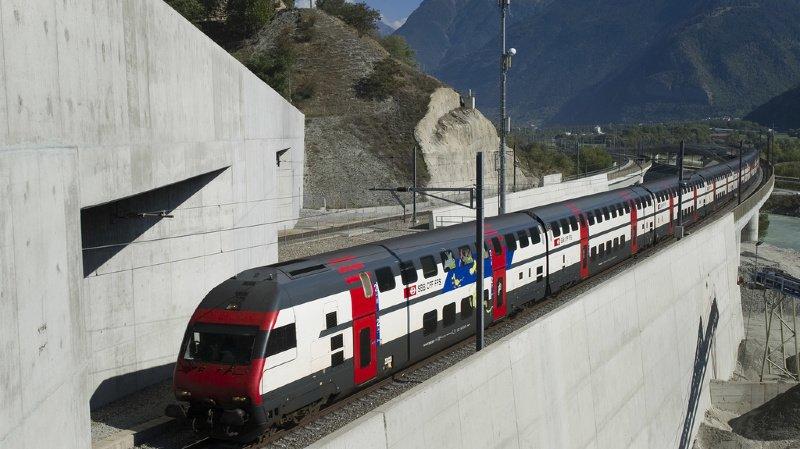 L'aménagement partiel du 2e tube du Lötschberg mis à l'enquête