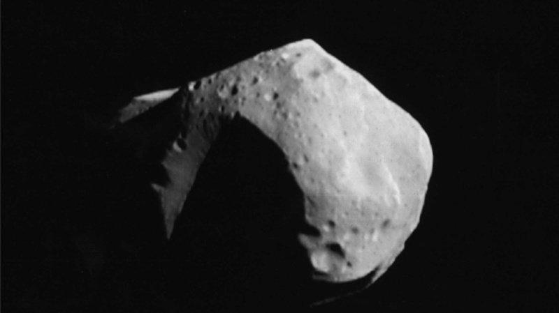 L'astéroïde découverte a provisoirement été appelé HLV2514 (illustration).