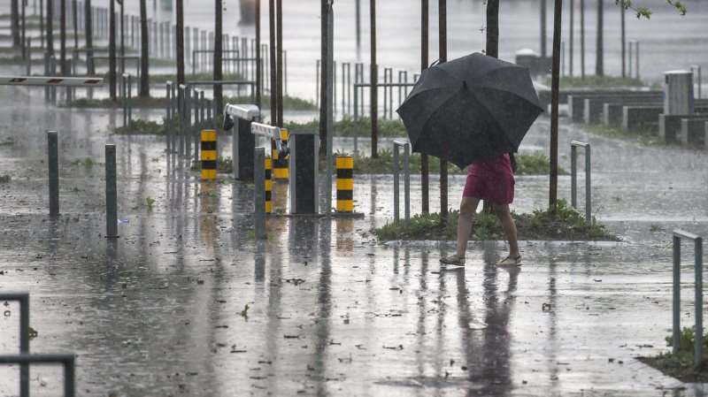 Météo: des pluies torrentielles ont touché la Suisse orientale