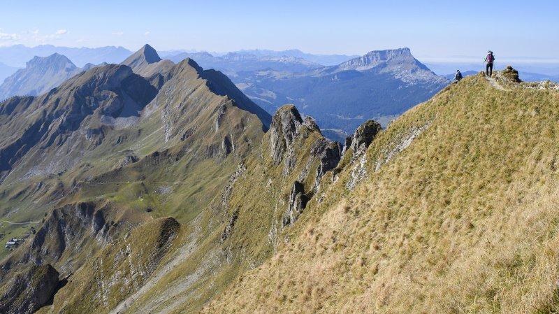Lucerne: chute mortelle d'un randonneur près du Brienzer Rothorn