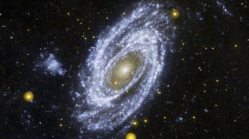 Astronomie: détection d'une galaxie émettant un rayonnement ultraviolet «extrême»