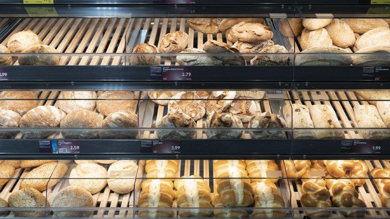 Alimentation: c'est en Suisse que le pain est le plus cher en Europe