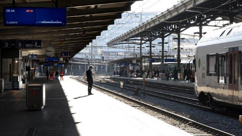 CFF: une matinée laborieuse pour les CFF entre Genève et Brigue