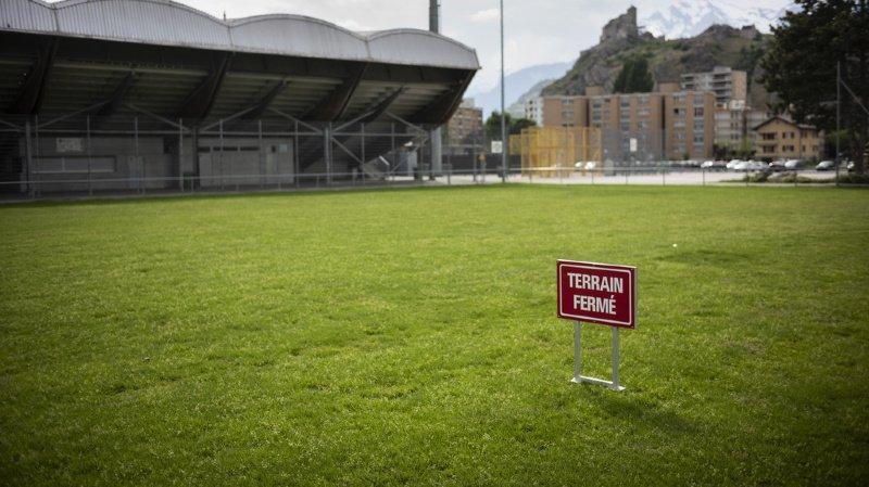 Football: toute l'équipe du FC Sion II mise en quarantaine