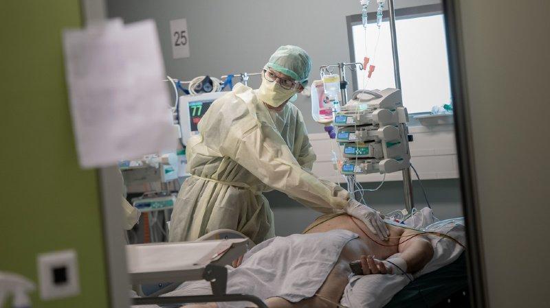 Coronavirus: lits en soins intensifs occupés au maximum à 98% dans les hôpitaux suisses