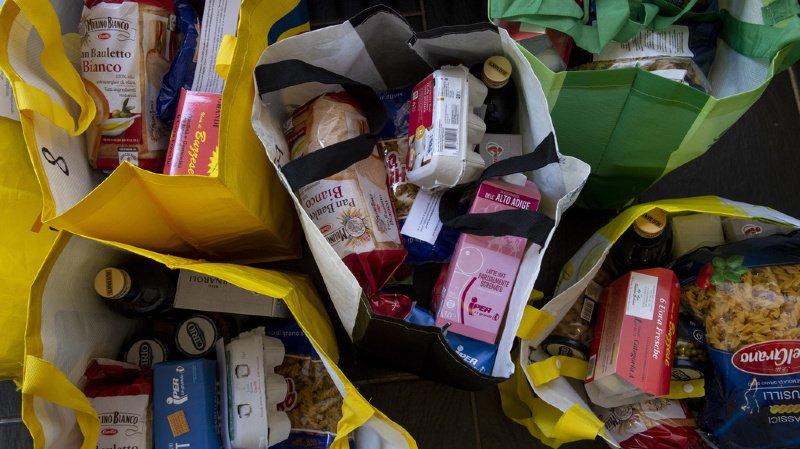 Depuis jeudi, les produits sont distribués dans tous les dépôts de Table couvre-toi et ce pendant environ trois semaines. (illustration)