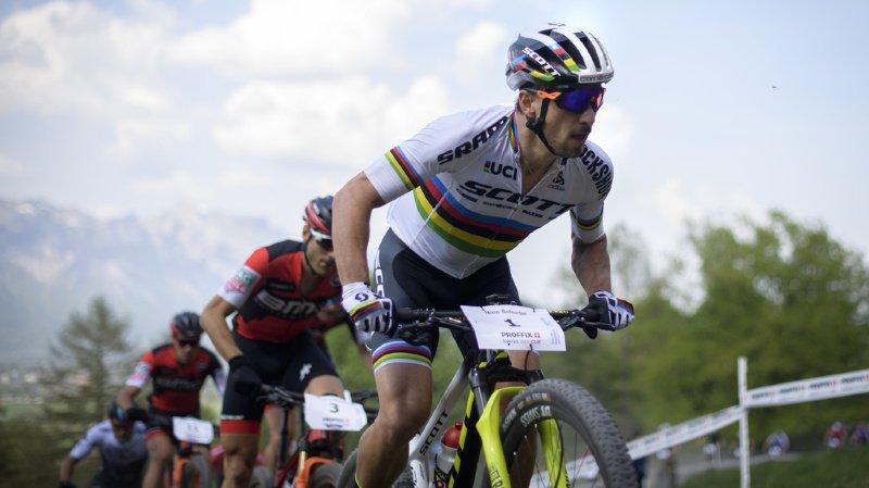 VTT: Nino Schurter et Sina Frei s'imposent lors de l'épreuve de Swiss Cup à Loèche-les-Bains