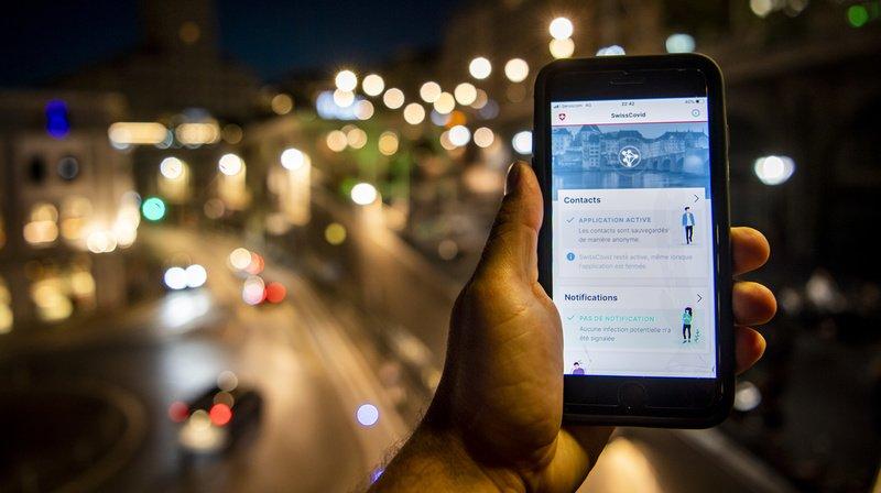 L'app SwissCovid a été téléchargée plus de 2 millions de fois. (Illustration)