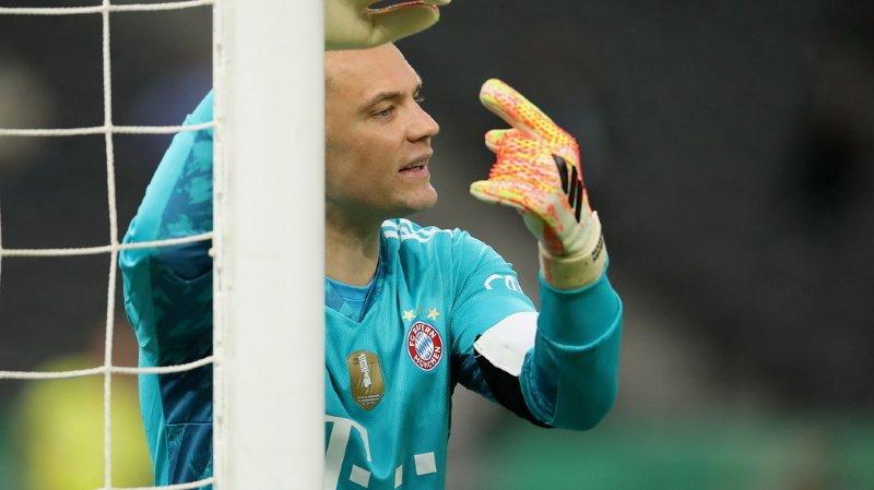 Football: Neuer filmé en train d'entonner un chant croate d'extrême droite
