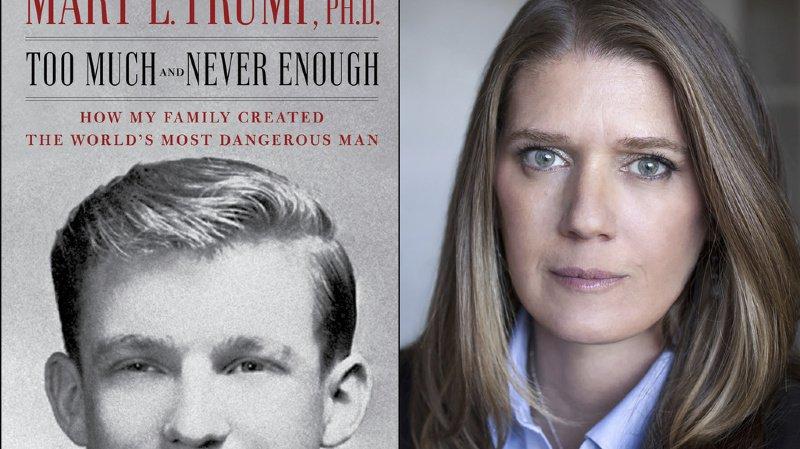 Etats-Unis: un million de livres de la nièce de Trump vendus le premier jour
