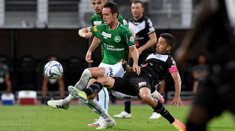 Football: match nul entre Lugano et Saint-Gall, qui perd sa place de leader