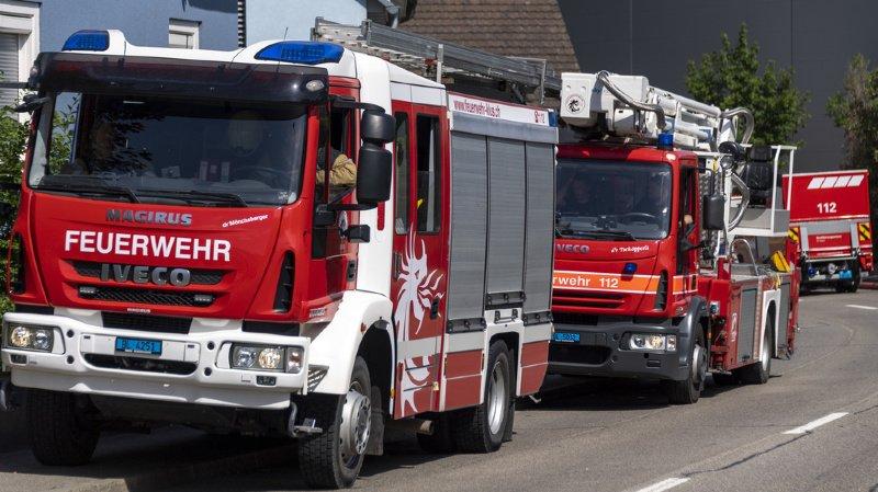 Vaud: l'incendie d'un cabanon fait 2 brûlés, dont un grave
