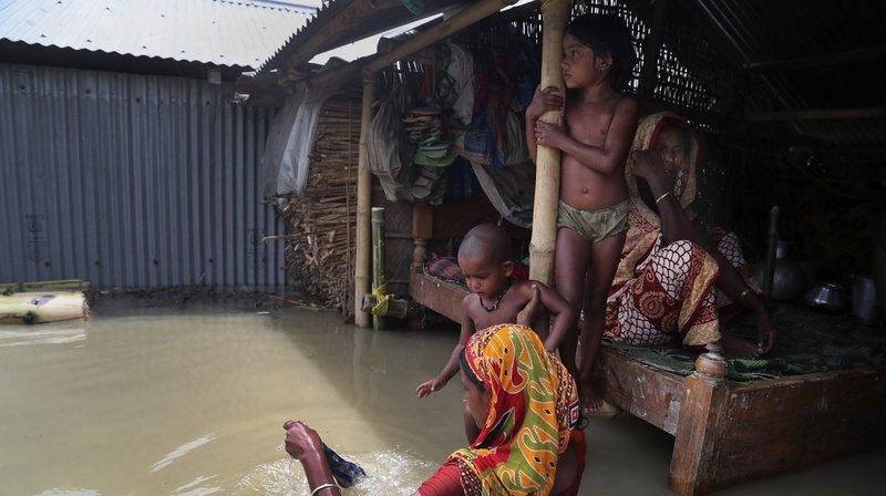 Près de quatre millions de personnes sont affectées par les inondations en Asie du Sud.