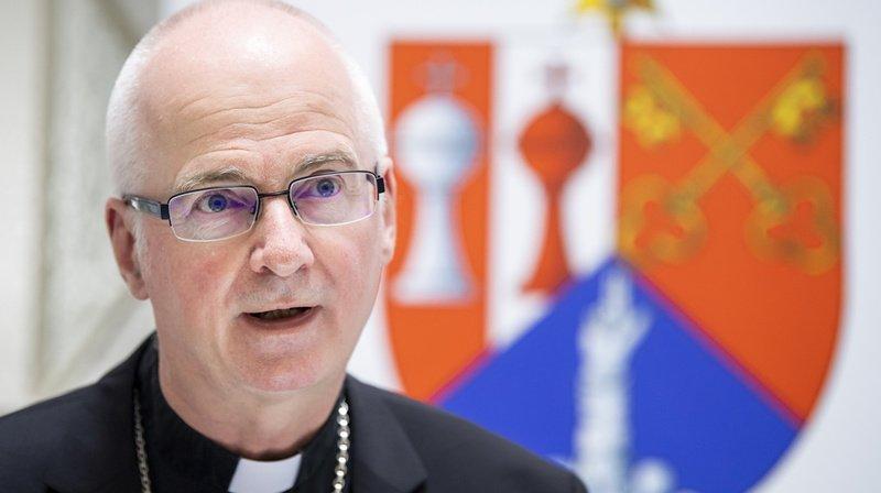 Mgr Charles Morerod s'est exprimé ce mercredi en conférence de presse à Fribourg.
