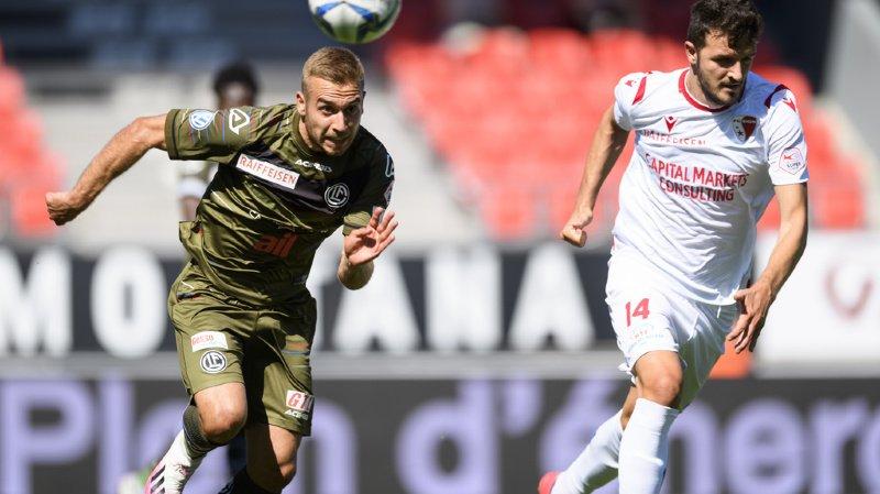 Super League: le FC Sion ne prend qu'un point contre Lugano