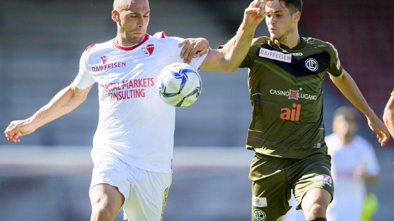 Le FC Sion et le FC Lugano se sont séparés sur le score de 1 à 1 lors de 32e journée de Super League.