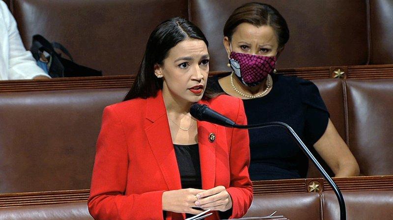 Etats-Unis : la démocrate Alexandria Ocasio-Cortez recadre un élu qui l'a traitée de «salope»