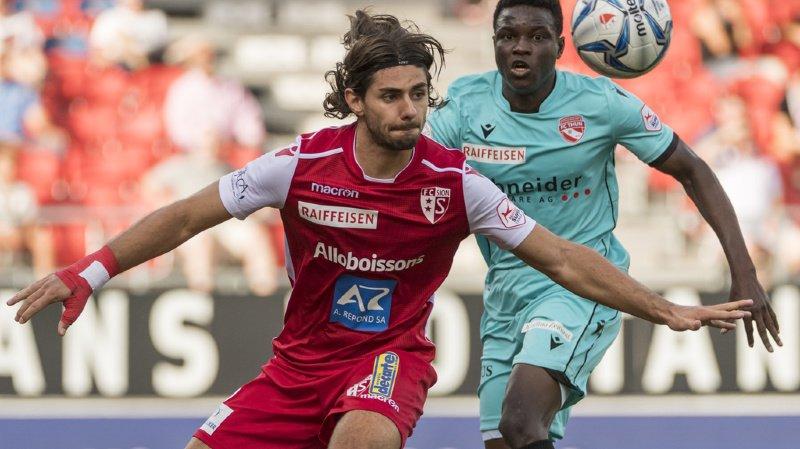 Jan Bamert et le FC Sion n'ont pas réussi à prendre le dessus sur Thoune.