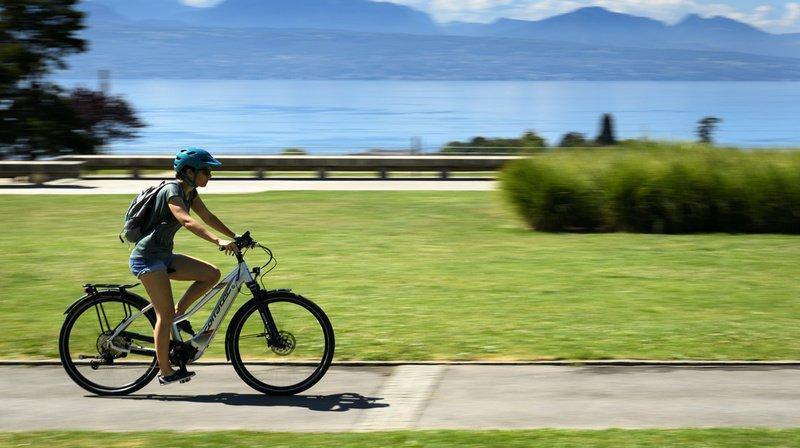 Mobilité: l'obligation du casque à vélo électrique jugée contre-productive par Pro velo