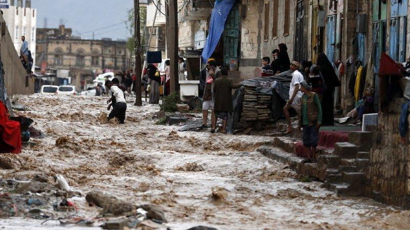 Yémen: des inondations meurtrières font 172 morts