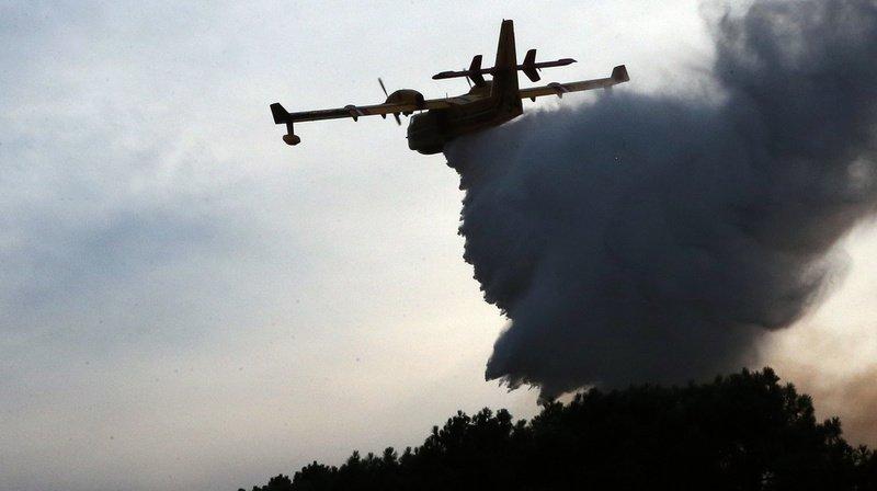 France: l'incendie d'Anglet, près de Biarriz, «maîtrisé», 165 hectares détruits