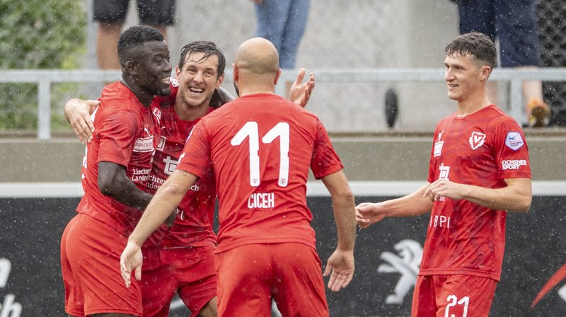 Football: Sion ou Thoune affrontera Vaduz en barrages