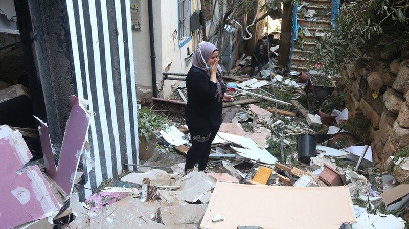Les énormes explosions ont également fait quelque 300'000 sans-abri.