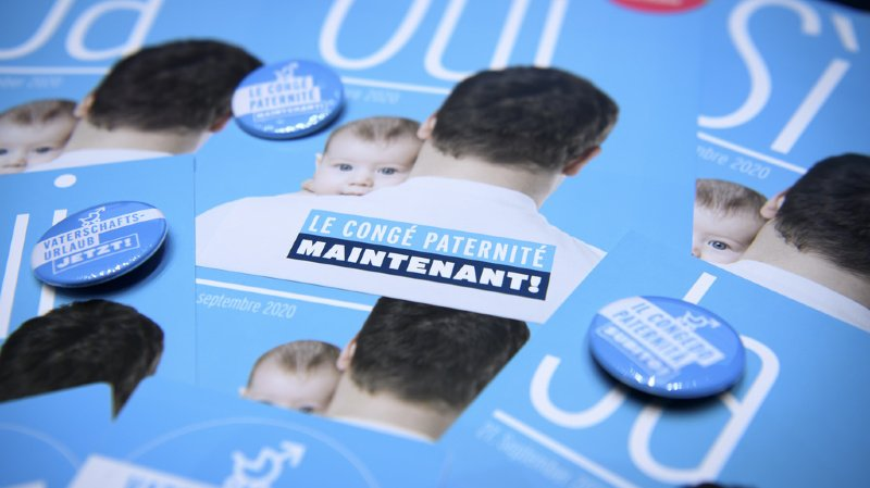 Votations fédérales: les Suisses diraient «oui» au congé paternité et à la loi sur la chasse