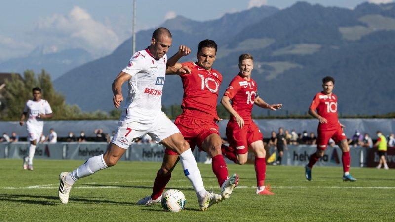 Coupe de Suisse: le FC Sion file en demi-finale sans trop trembler