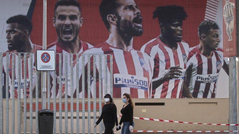 L'annonce du club pensionnaire de la capitale espagnole fait des remous et fait augmenter l'inquiétude aux abords du stade Metropolitano.