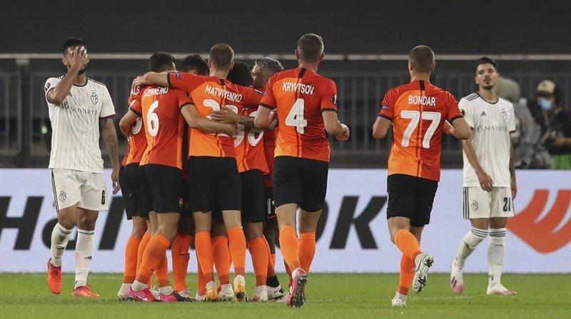 Football – Europa League: le Shakhtar écrase Bâle en quarts de finale, Séville qualifié