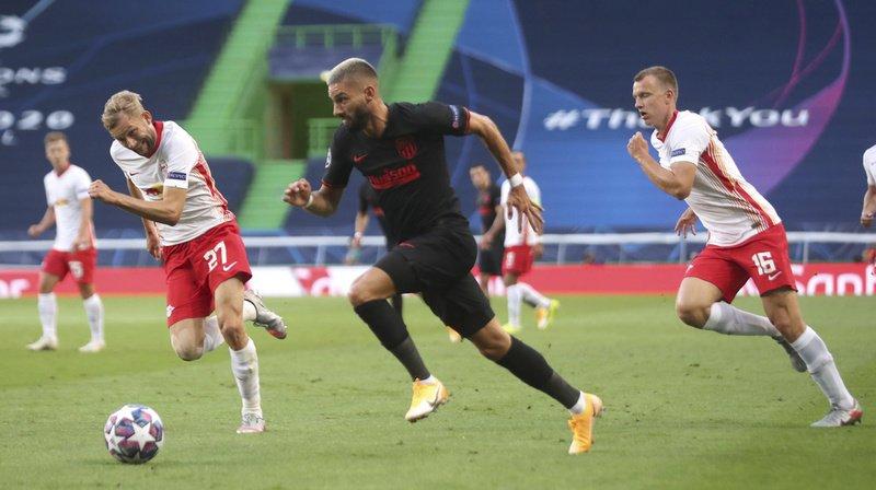 Football – Ligue des champions: Leipzig bat l'Atletico et file en demi-finales