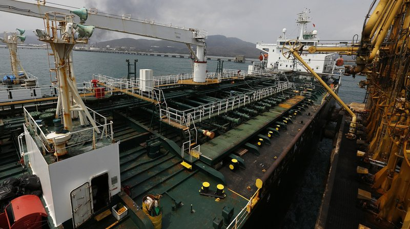 Plus d'un million de barils de pétrole ont été saisis par les Etats-Unis.