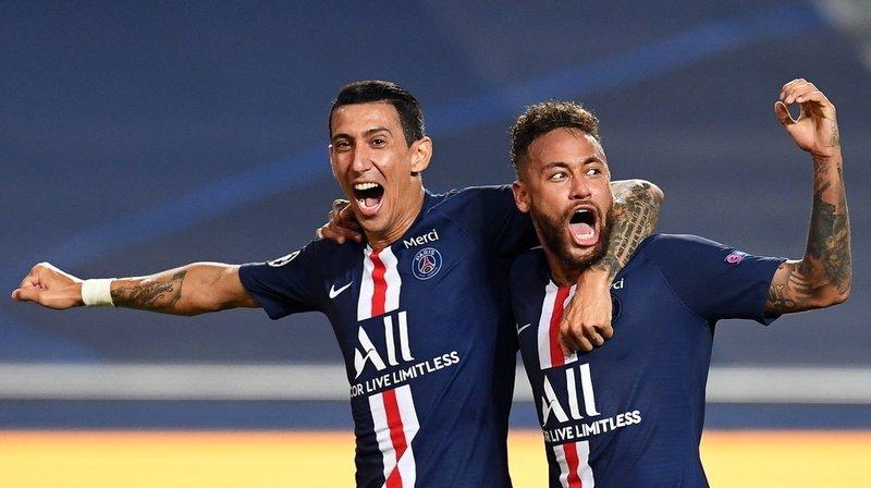 Angel Di Maria et Neymar peuvent exulter. Ils disputeront dimanche la finale de la Ligue des champions.