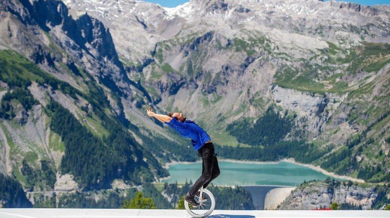 Crans-Montana: le cirque de l'alpage au chapiteau