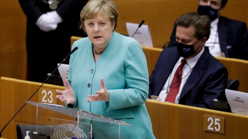 Angela Merkel veut  un accord budgétaire rapide