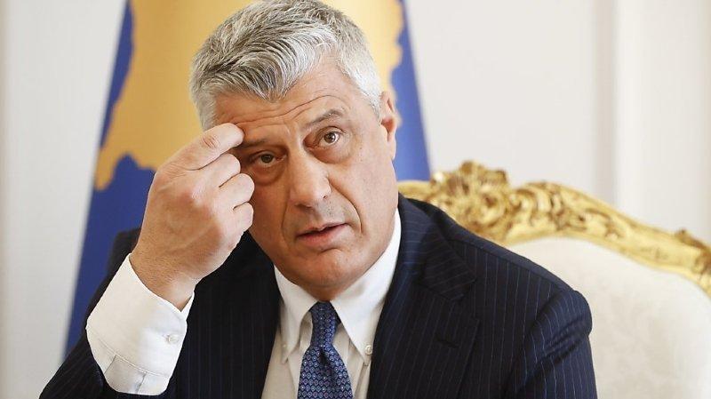 Le président du Kosovo à La Haye