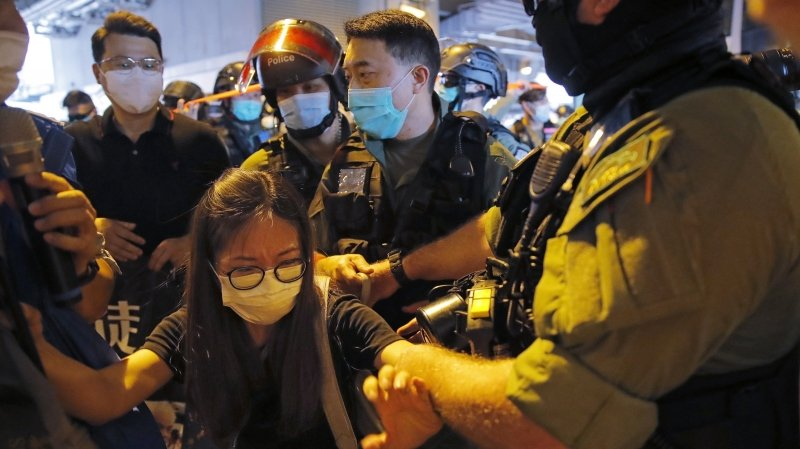 Hong Kong bâillonné
