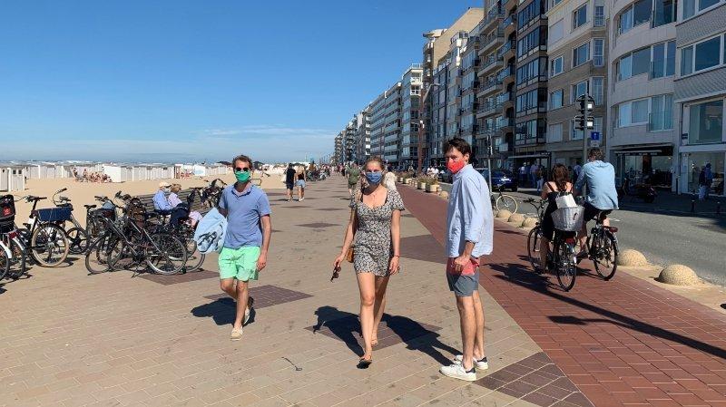 Belgique: la station balnéaire de Knokke ne craint pas le coronavirus