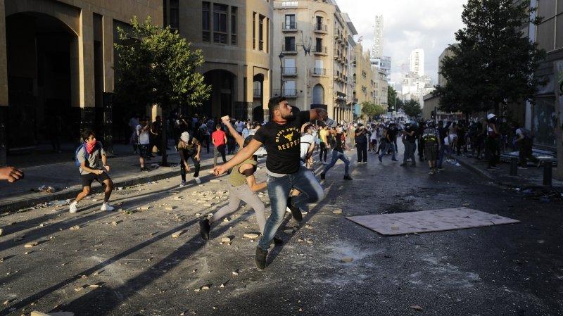 Les Beyrouthins font éclater leur colère