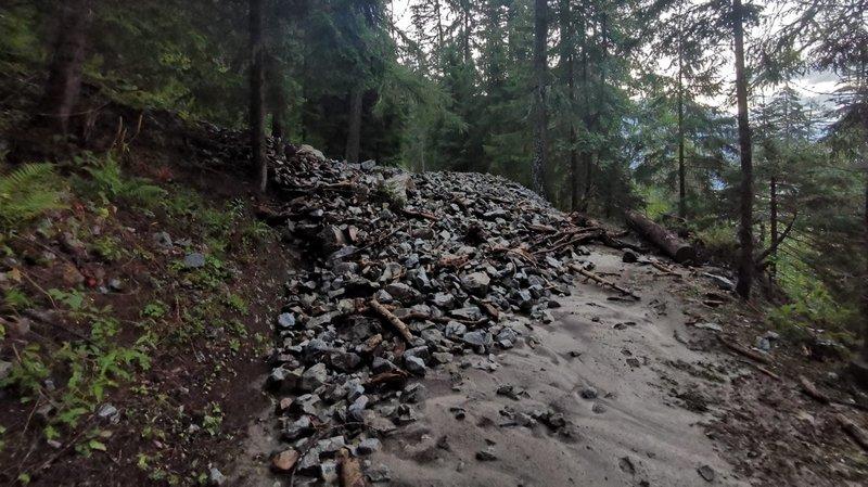Orage en Valais: gros dégâts mais pas de blessés
