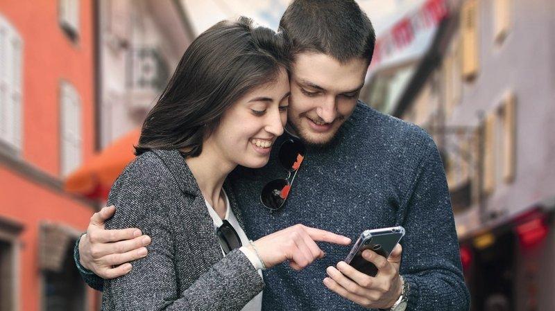 Grâce à l'application GuidiGO, les visiteurs peuvent se laisser guider par leur smartphone.