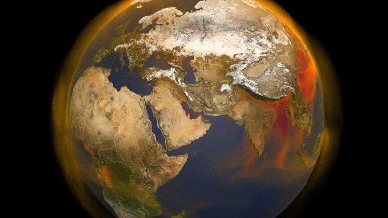 Les régions aux plus fortes émissions de méthane sont l'Amérique du Sud, l'Afrique, l'Asie du Sud Est et la Chine.