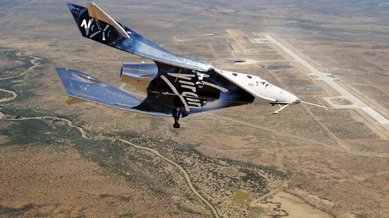 Espace: Le vaisseau spatial de Virgin pourra avoir six passagers et sera équipé de caméras pour selfie