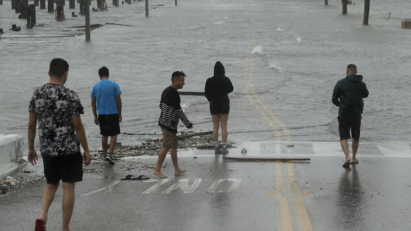 Etats-Unis: l'ouragan Hanna a atteint le Texas