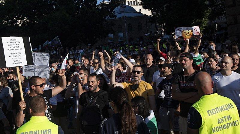 Les manifestations ont commencé jeudi à Sofia pour protester contre des perquisitions ordonnées par le parquet (archives).