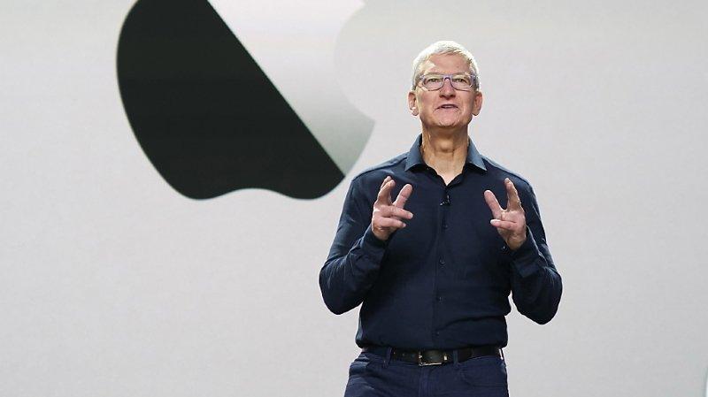 Etats-Unis: grâce à Apple, Tim Cook rejoint le club très fermé des milliardaires